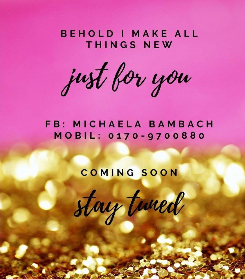 Michaela Bambach Coming soon